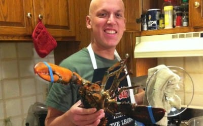 Making Lobster on New Years
