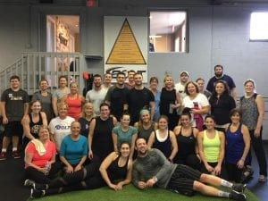 Bolt Fitness, charity workout, sweat class, Chester, New Jersey, sports, health, cancer, sweaty, fun, workout
