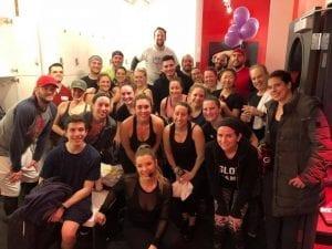 cyclebar, charity, fundraiser, Hoboken, spin, cancer, Layups 4 Life