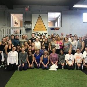 workout, Chester, BOLT Fitness, Fitness, Super Bowl, cancer, fundraiser