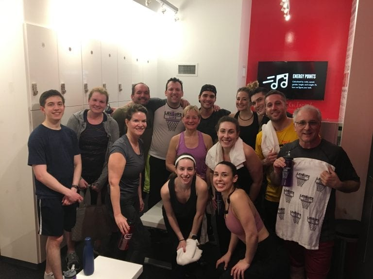spin, cycle, CycleBar, Hoboken, cancer, fundraiser, charity, workout, sweat