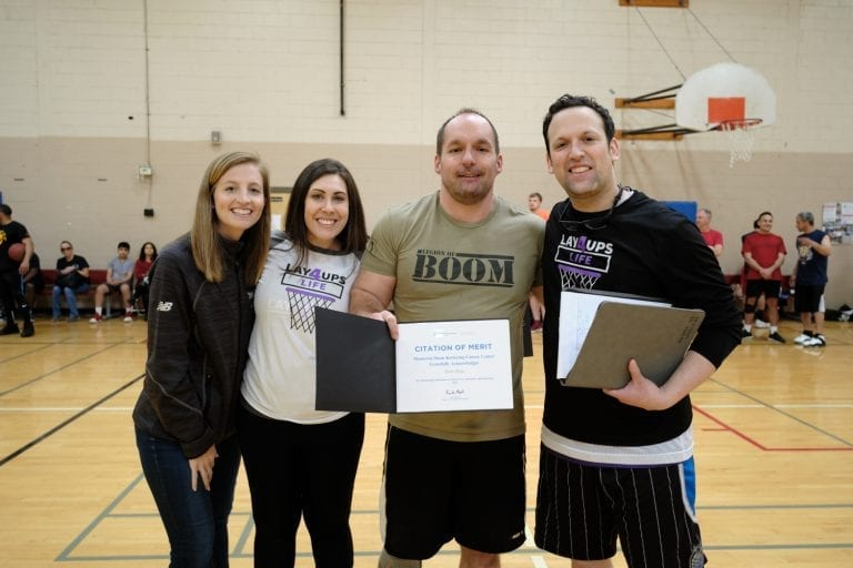 Memorial Sloan Ketering Cancer Center, basketball, cancer, sports, charity, fundraiser